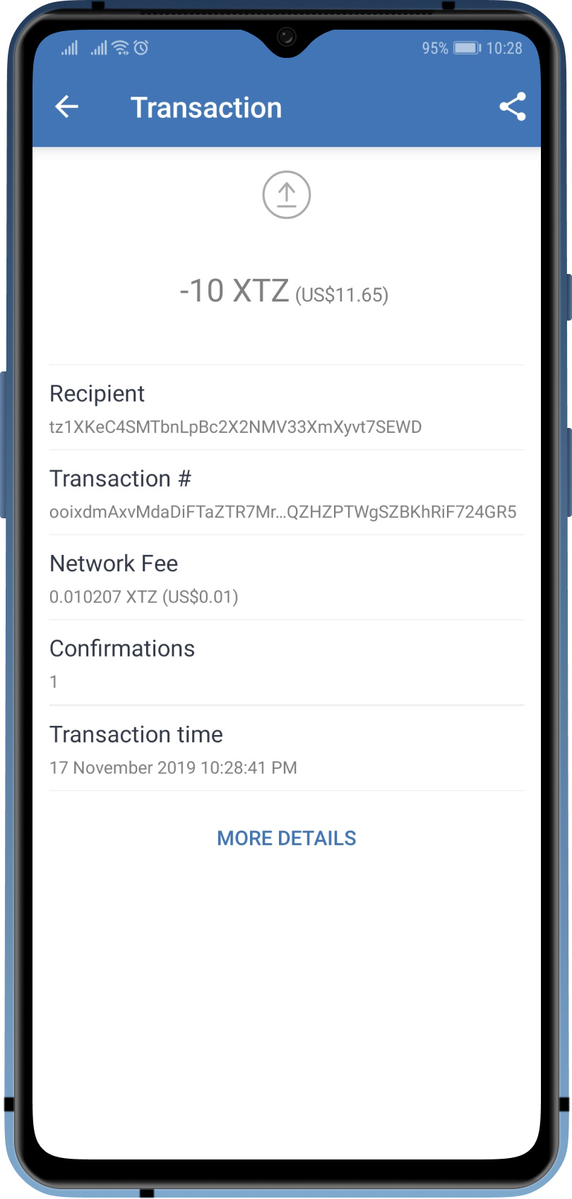 cryptocurrency wallet transfer funds
