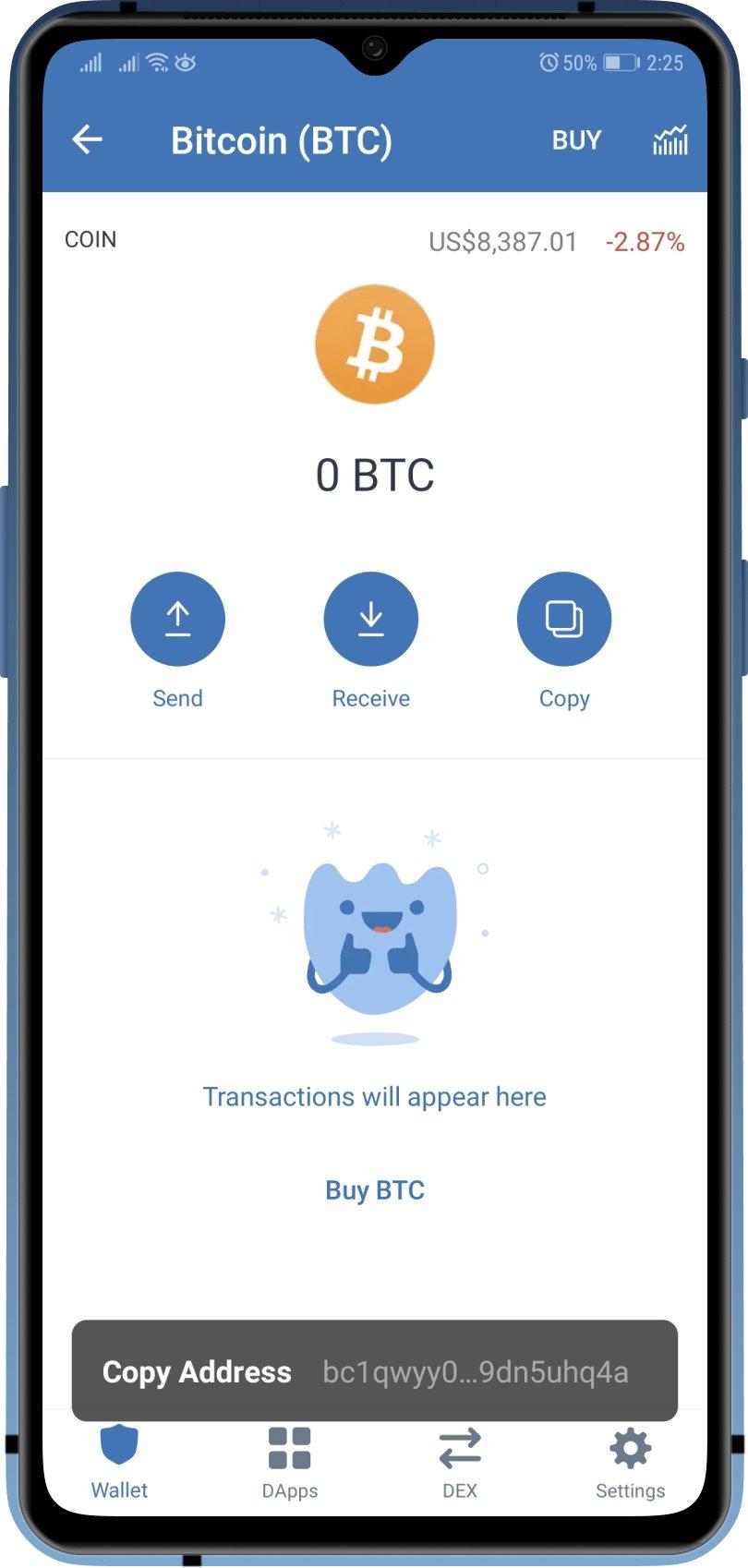 pakeistas bitcoin wallet adresas