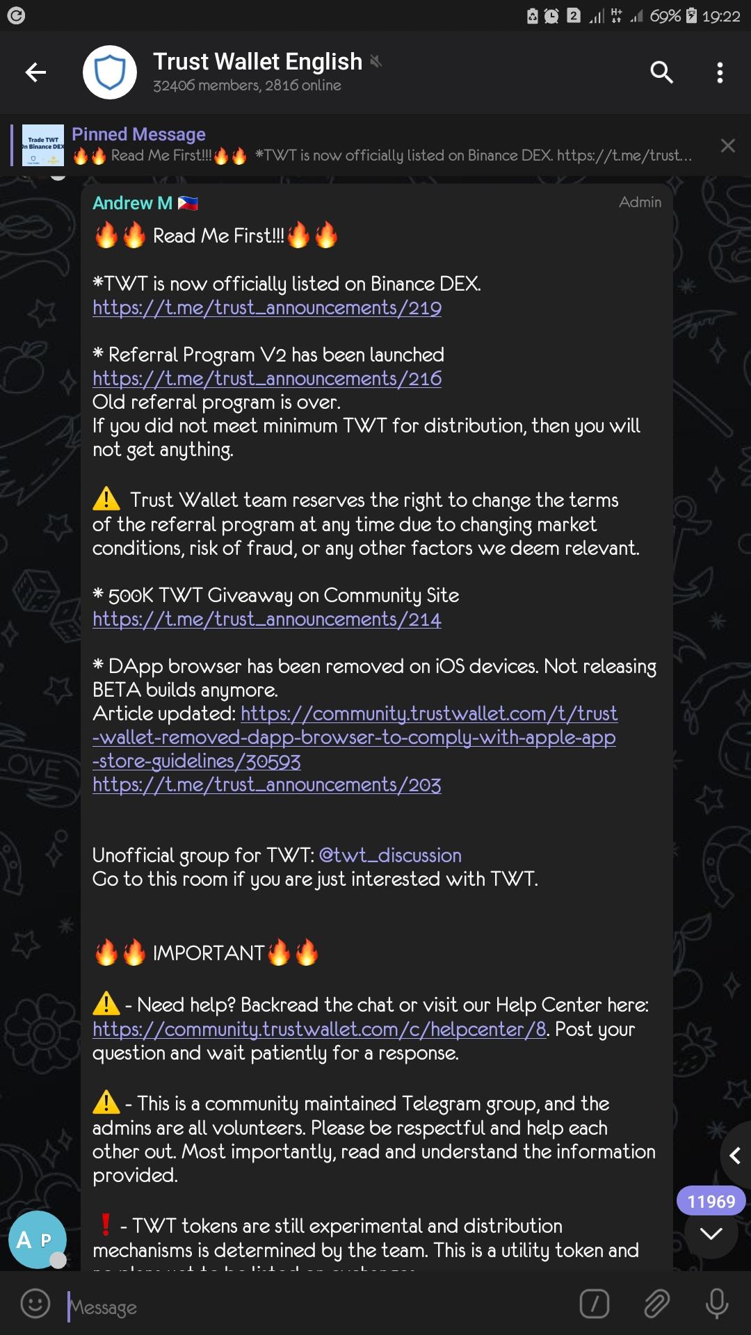 Fake Telegram channel Scam! - Support & Feedback - Trust ...