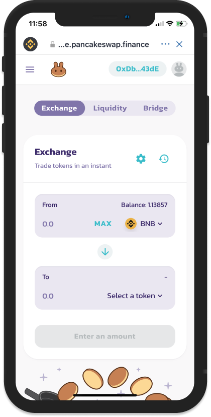 How To Earn Farm And Stake Cake On Pancakeswap With Trust Wallet Dapp Guides And Reviews Trust Wallet
